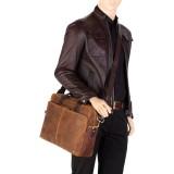 """Visconti pánska kožená taška 15"""" Laptop ML31"""