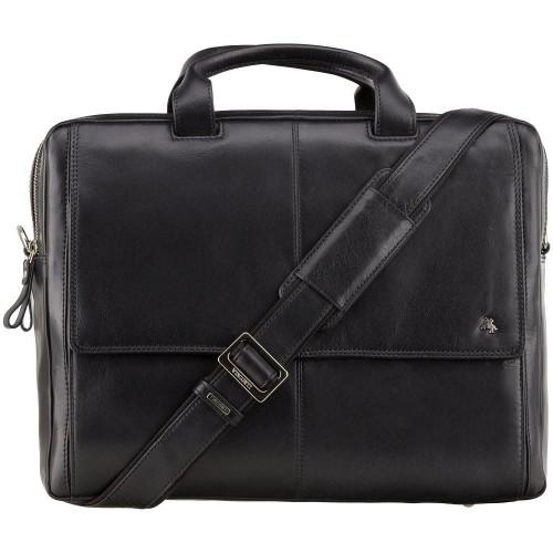 """Visconti pánska kožená taška 2 kapsy 15"""" notebook"""