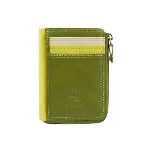 Visconti puzdro na karty a drobné zelené